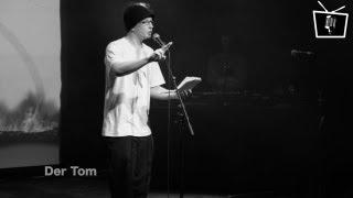 Tom Schildhauer - live beim Bunker Slam - Poetry Slam auf SlamTV