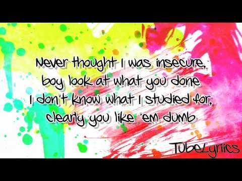 Cher Lloyd ft . T.I. - I Wish (Lyrics Video) + Free mp3 download!