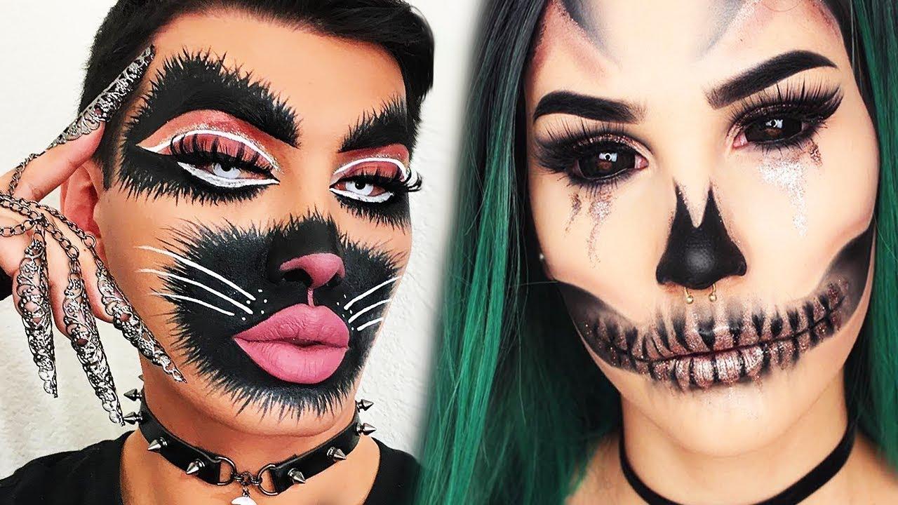 Top 15 diy halloween makeup tutorial ideas costumes 2018 youtube top 15 diy halloween makeup tutorial ideas costumes 2018 solutioingenieria Image collections