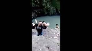 Detik Detik Tenggelamnya Zefanya Mandey Di Air Terjun Lelema