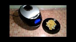 Домашние видео рецепты - креветки в соусе карри в мультиварке
