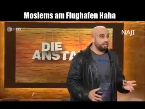Moslems am Flughafen !!! ZDF
