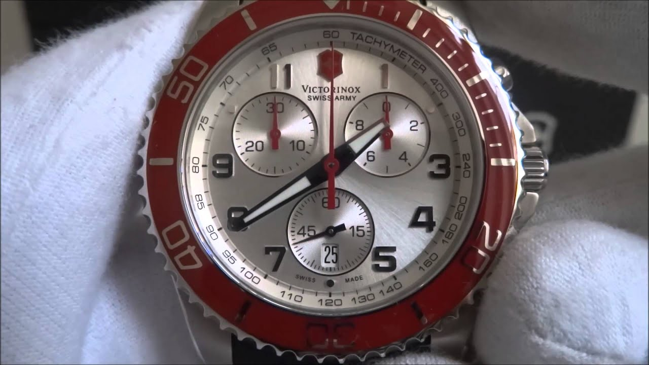 bracelet army watches swiss victorinox enlarged the maverick watch products
