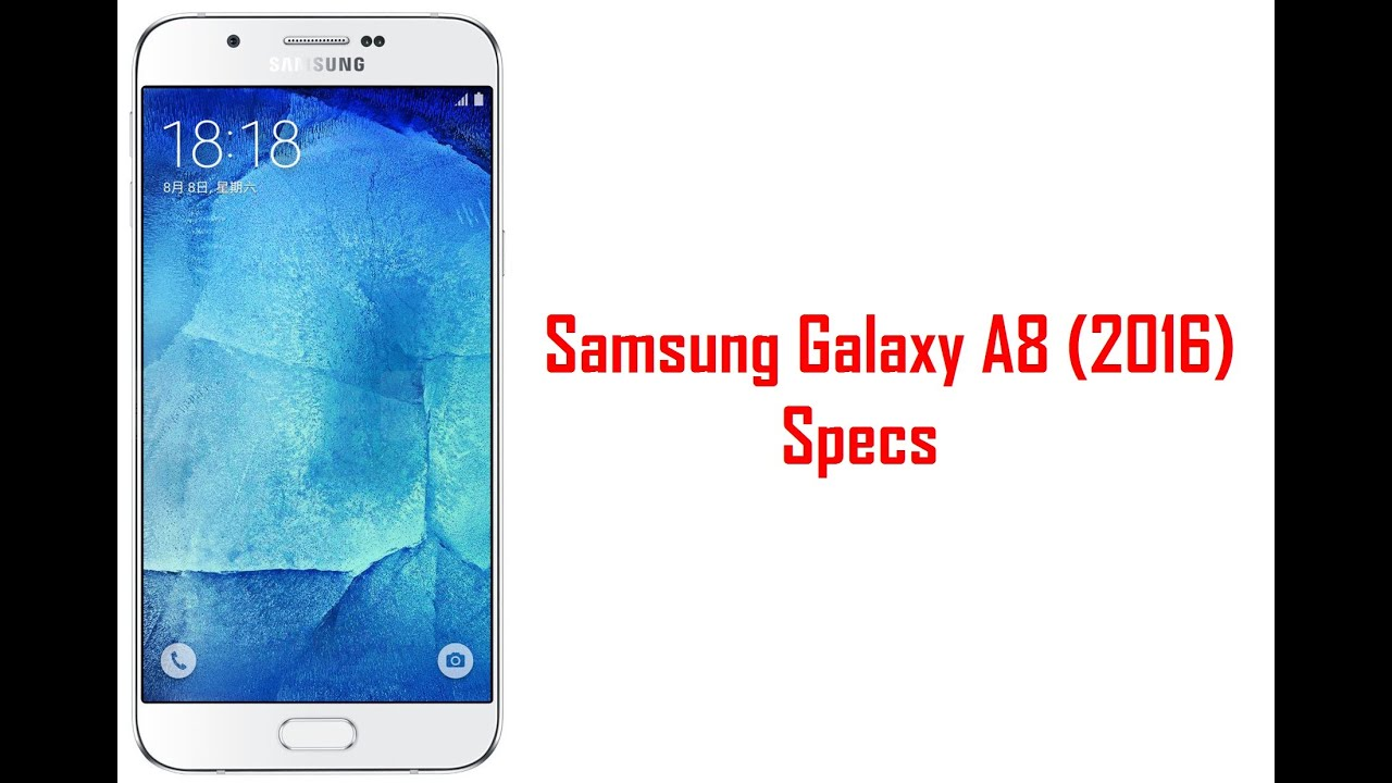 Samsung galaxy a8 2016 pictures official photos - Samsung Galaxy A8 2016 Specs Features Price
