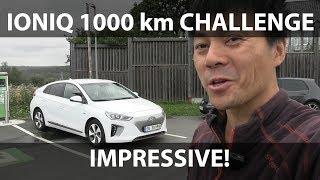 Hyundai Ioniq 28 kWh 1000 km challenge