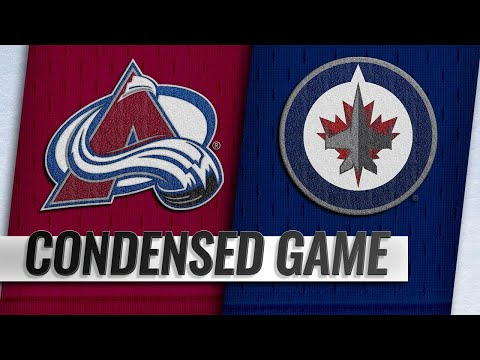01/08/19 Condensed Game: Avalanche @ Jets