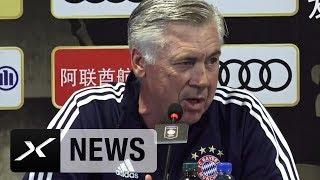 Carlo Ancelotti: Kein Druck durch James-Rodriguez-Transfer | FC Bayern München