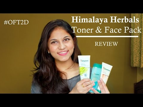 himalaya-herbals-toner-&-face-pack-|-review-#oft2d
