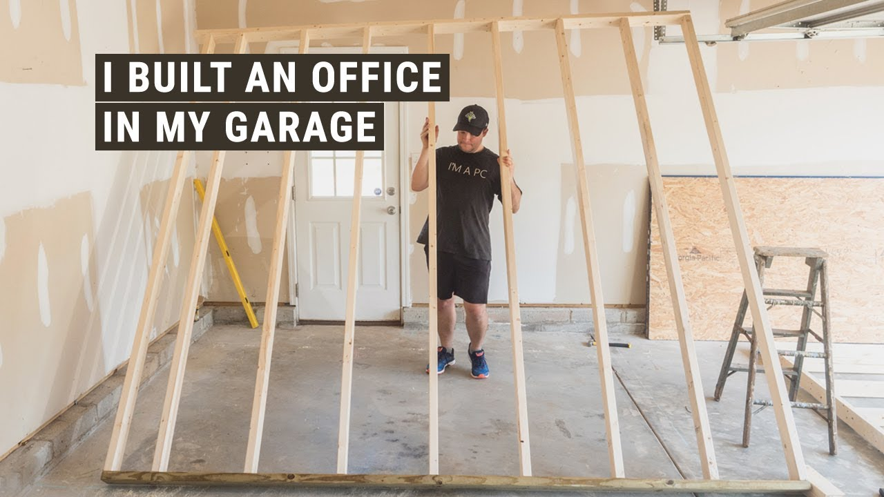I Built An Office In My Garage And Still Have Room To Park Our