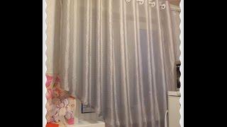 Шторы на люверсах своими руками Установка люверсов на шторы Как сшить шторы(В этом видео я вам покажу, как сшить штору, на кухню на люверсах. Длина люверсной ленты должна ровняться..., 2016-04-02T15:05:19.000Z)