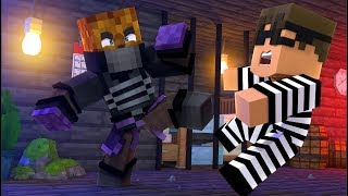 Minecraft Ninja Mod Cops And Robbers W/ Tewtiy - Minecraft Modded Minigame | JeromeASF