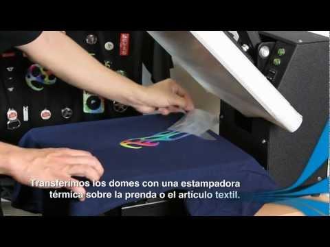 Print-CUT + ColorDrop :: Domes textiles