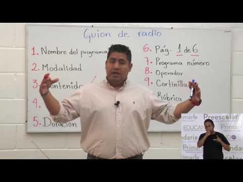 Primaria 5º y 6º clase: 41 Tema: El guión de radio (Segunda sesión)