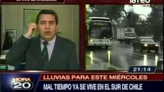 Pronostican lluvias para Santiago a partir de mañana miércoles