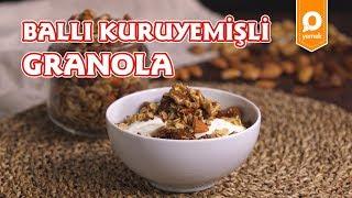 Ballı Kuruyemişli Granola Tarifi - Onedio Yemek - Sağlıklı Tarifler