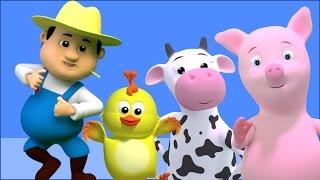 Старый Макдональд имел ферму | детские песни на русском языке | детские стишки