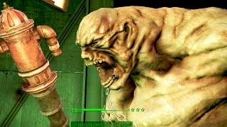 Fallout 4: Far Harbor | Secret Giant Monster