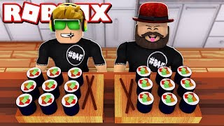 WELCOME TO MY SUSHI RESTAURANT | ROBLOX SUSHI TYCOON