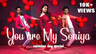Valentine Day special 2019 | You Are My Soniya | Dance Cover | Ft. Khushi & Aadi | One Chance