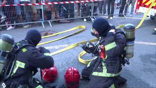Pompiers de Versailles SDIS 78 . Journée porte ouverte Septembre 2018