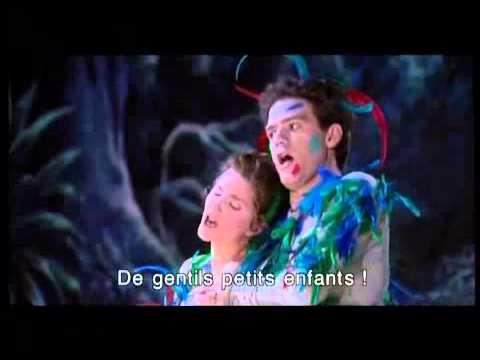 "Papagena&Papageno duet from Mozart's opera ""The Magic Flute"" (Opéra national de Paris)"