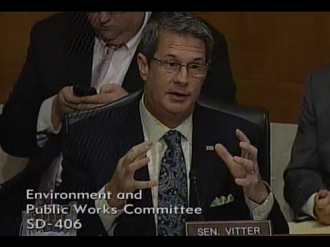 Vitter Remarks at EPW TSCA Hearing