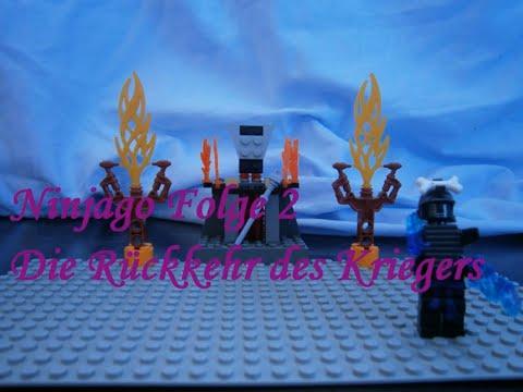 Lego Ninjago Folge 2 Der Mysteriöse Krieger Die Rückkehr Des