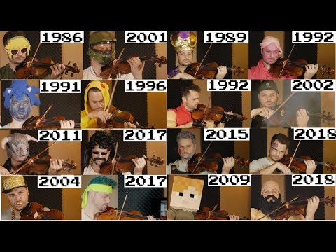 Evolution of Game Music  19722018  ALL 41 GAMES Plus 3 New Games