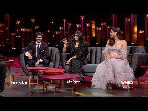 Sonam Kapoor, Rhea Kapoor & Harshvardhan Kapoor on Koffee With Karan Season 6 | Hotstar Mp3