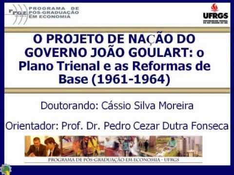 O projeto de nação do governo João Goulart