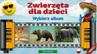 Let's Play • Zwierzęta dla dzieci • po Polsku, Nauka zwierząt, animacja, bajka, Gry dla dzieci