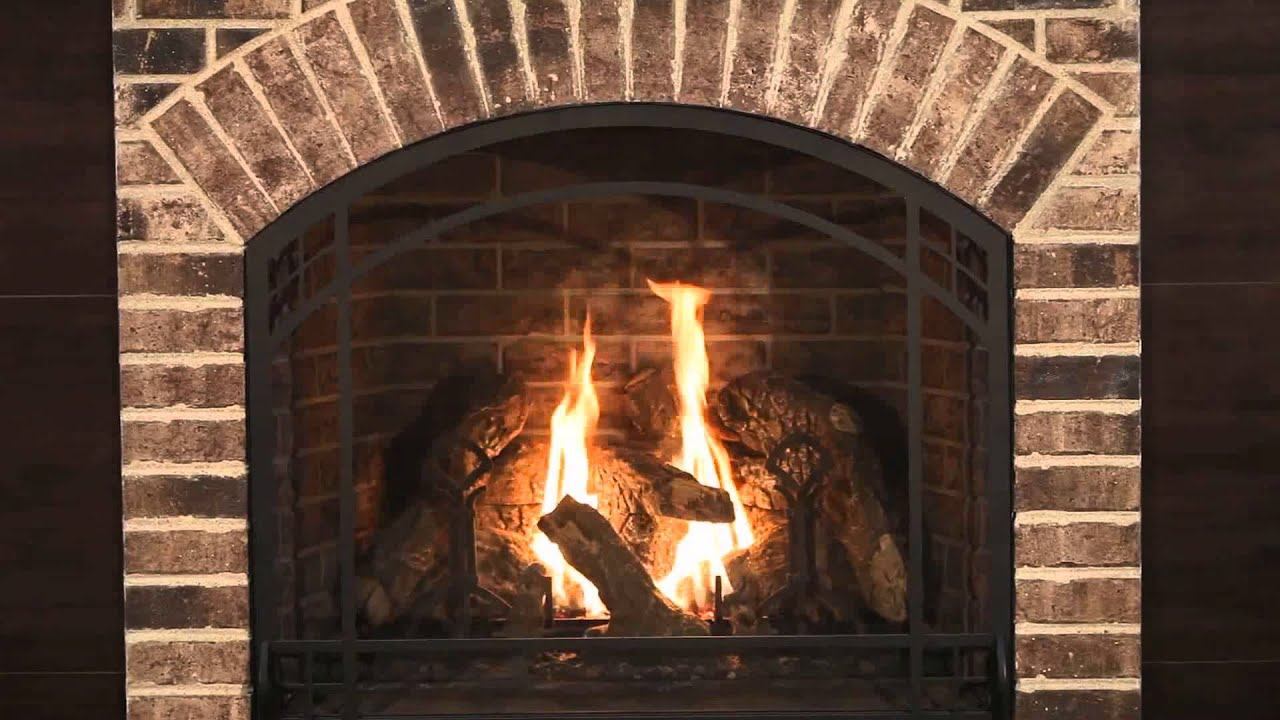 kozy heat alpha louverless gas fireplace youtube