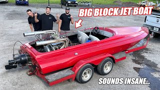 homepage tile video photo for $2,500 Boat Challenge Part 3 - James/Tye Reveal Their INSANE $1,800 Jet Boat... HOW????