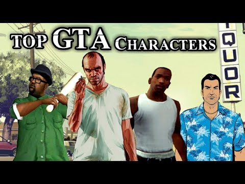 Top 10 GTA Characters | Top Grand Theft Auto Characters