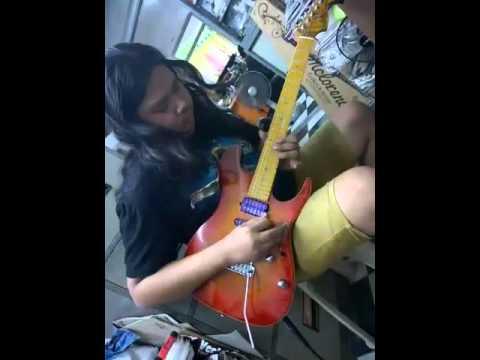 Guitar (Atlas vintage melody).(By) (Rinton Guitars )(Atlas Custom)