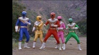 Power Rangers Zeo - Power of Gold - Power Rangers vs Wolfbane