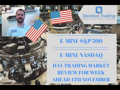 E-Mini S&P 500 and E-Mini NASDAQ Day Trading Market Review for Week Ahead 11th November