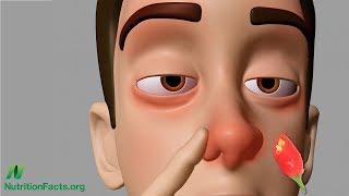 Pálivá omáčka do nosu jako léčba bolestí hlavy?