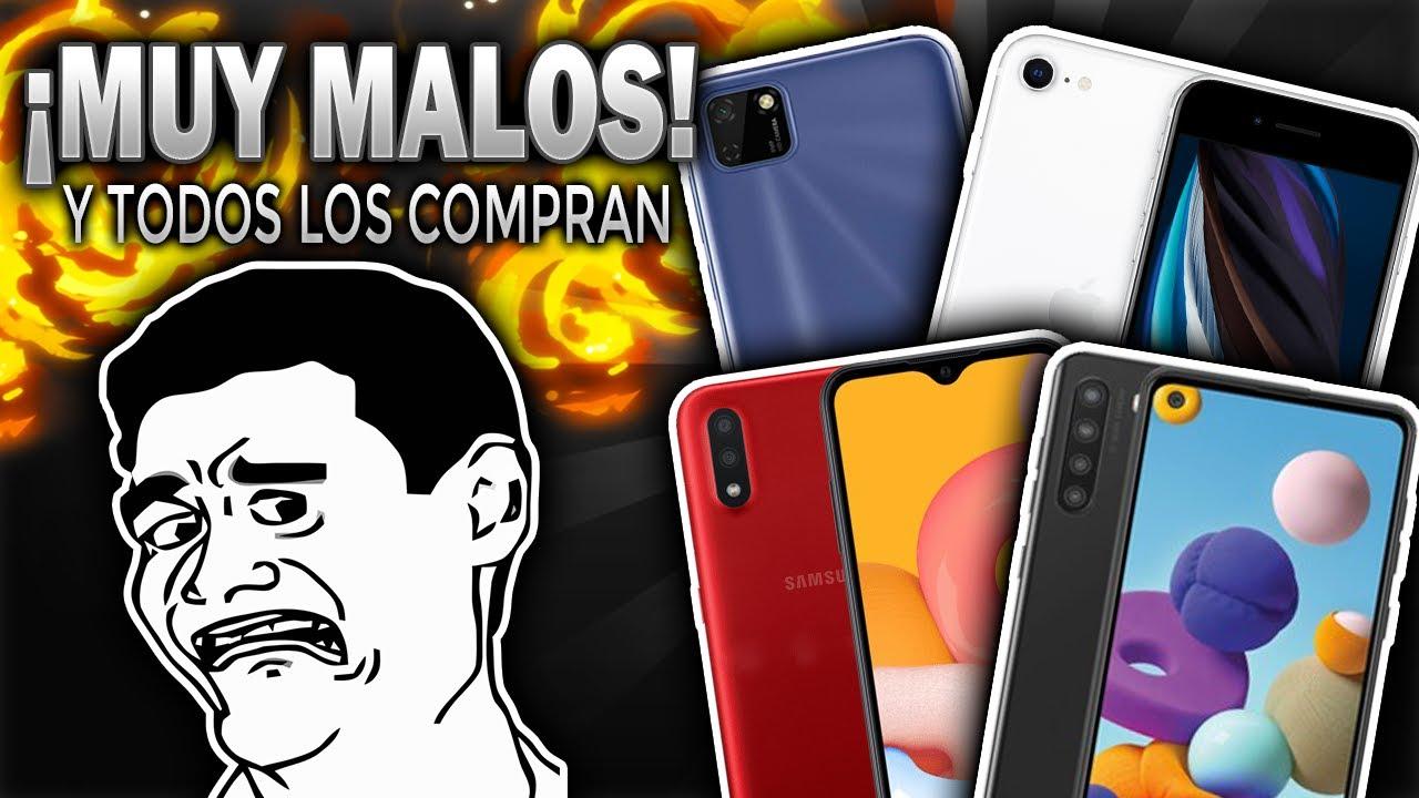 LOS PEORES TELÉFONOS QUE NADIE DEBERIA COMPRAR 2020  ¡MUCHOS LOS COMPRAN!