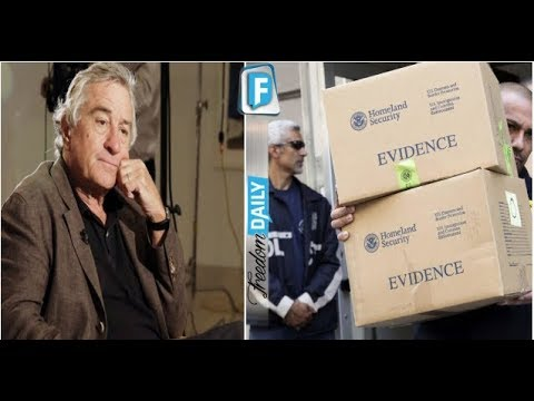 """ROBERT DE NIRO JUST BUSTED IN DISGUSTING ACT AFTER CALLING TRUMP A """" LOW LIFE"""" HIS ACTING CAREER IS"""