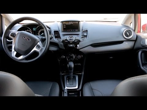2014 Ford Fiesta Interior Review Youtube