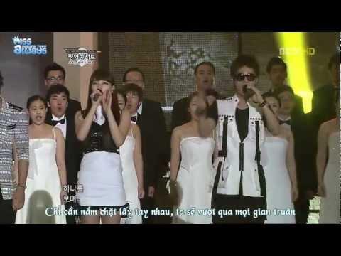 [Vietsub] 110814 Dreaming of Balhae - Miss A & MBLAQ