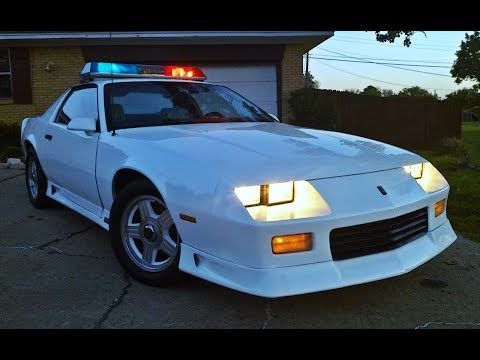 1991 Chevrolet Camaro B4C Police...