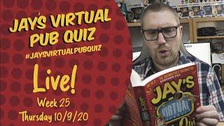 Virtual Pub Quiz, Live! Week 25