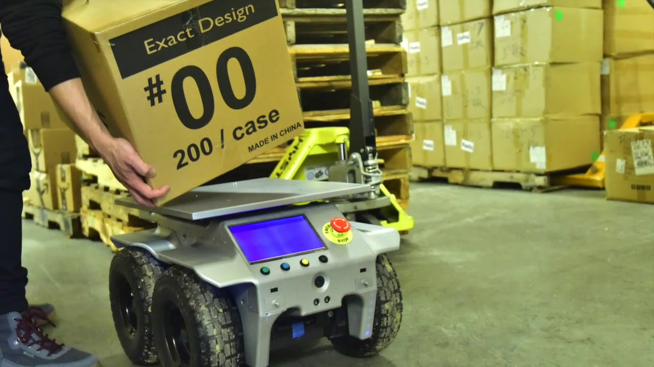 Reebotic AI robot for warehouse automation