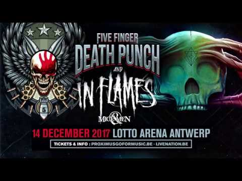 Five Finger Punch In Flames Arena