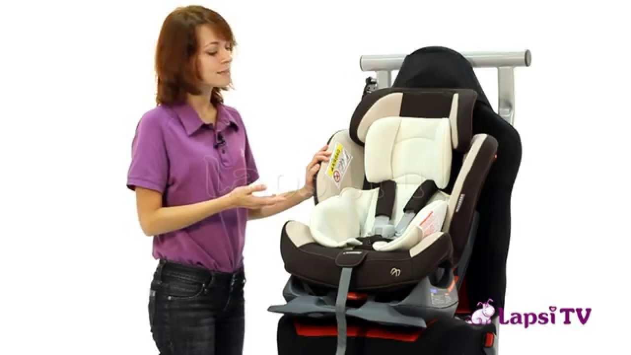 Детские автокресла. Кресло детское автомобильное zutto 3 style, группа 0 +/1/2, от 0-18 кг. Производитель: carmate (япония). Крепится при помощи.