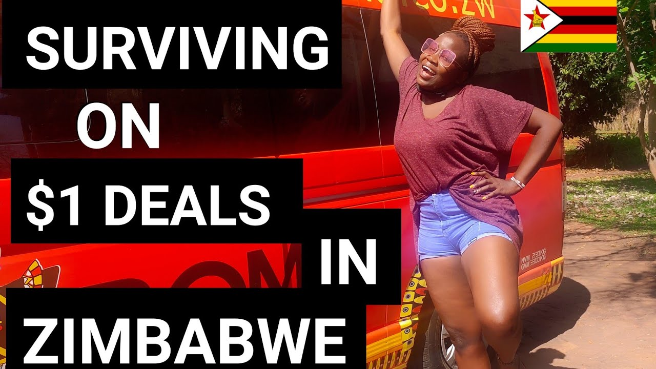 Surviving on $1 In Victoria Falls #Zimbabwe Africa Ep32