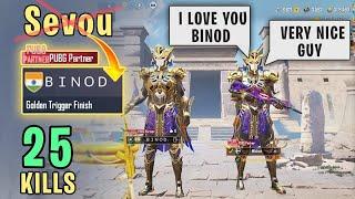 Sevou Changed Name to BINOD   PUBG Mobile