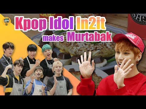 Blimey introduced Murtabak to Kpop Idol IN2IT |Blimey